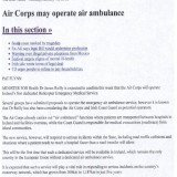 Air Corps may operate Air Ambulance