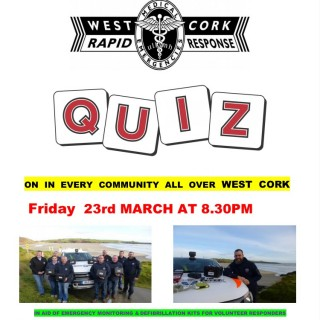 Quiz poster 23rd March
